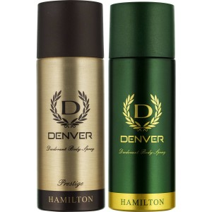 Buy Herbal Denver Hamilton and Prestige Deodorant Combo (Pack of 2) - Nykaa