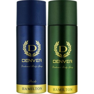 Buy Herbal Denver Hamilton and Pride Deodorant Combo (Pack of 2) - Nykaa