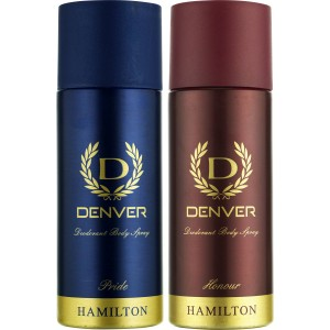 Buy Denver Pride and Honour Deodorant Combo (Pack of 2) - Nykaa
