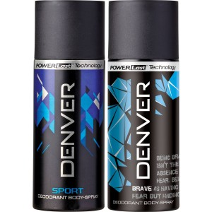 Buy Denver Sport and Brave Combo (Pack of 2) - Nykaa