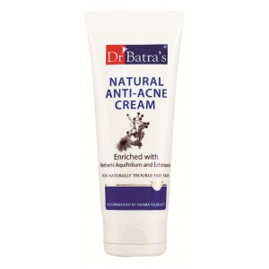 Buy Dr. Batra's Natural Anti Acne Cream - Nykaa