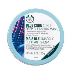 Buy The Body Shop Blue Corn 3 in1 Deep Cleansing Scrub Mask - Nykaa