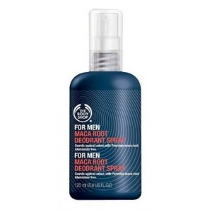 Buy Herbal The Body Shop For Men Maca Root Deodorant Spray - Nykaa
