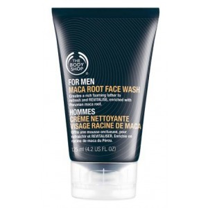 Buy The Body Shop For Men Maca Root Face Wash - Nykaa