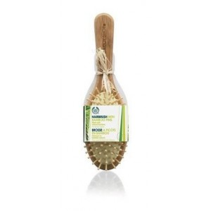 Buy The Body Shop Hairbrush With Bamboo Pins - Nykaa