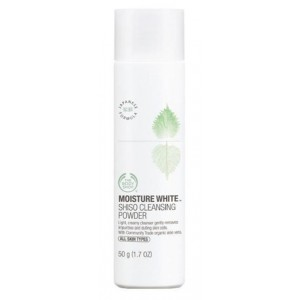 Buy The Body Shop Moisture White Shiso Cleansing Powder - Nykaa