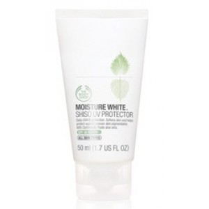 Buy Herbal The Body Shop Moisture White Shiso UV Protection Cream SPF 30 PA+++ - Nykaa