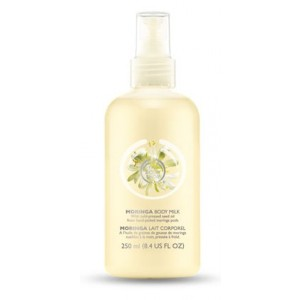 Buy The Body Shop Moringa Softening Body Milk - Nykaa