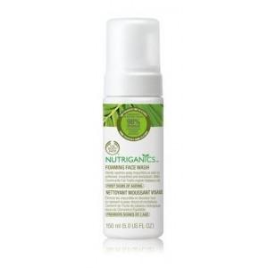 Buy The Body Shop Nutriganics  Foaming Face Wash  - Nykaa
