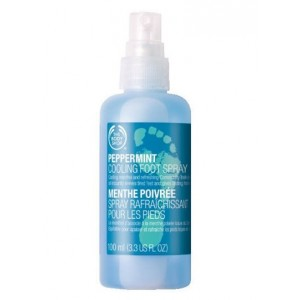 Buy The Body Shop Peppermint Cooling Foot Spray - Nykaa