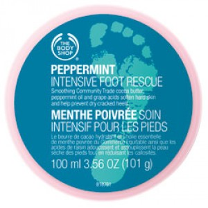 Buy The Body Shop Peppermint Intensive Foot Rescue - Nykaa