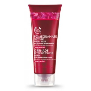 Buy The Body Shop Pomegranate Softening Facial Wash - Nykaa