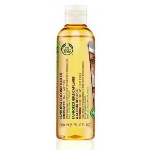 Buy The Body Shop Rainforest Coconut Hair Oil - Nykaa