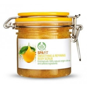Buy The Body Shop Spa Fit Smoothing & Refining Scrub  - Nykaa