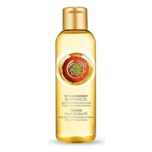Buy The Body Shop Strawberry Beautifying Oil  - Nykaa