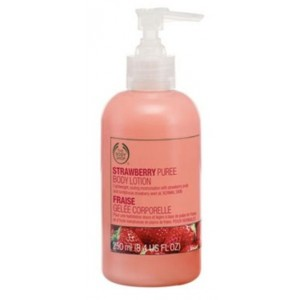 Buy The Body Shop Strawberry Softening Gel Lotion - Nykaa