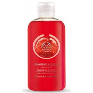 Buy The Body Shop Strawberry Shower Gel - Nykaa