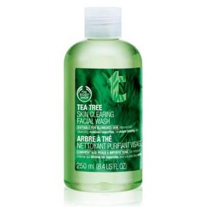 Buy The Body Shop Tea Tree Skin Clearing Facial Wash - Nykaa