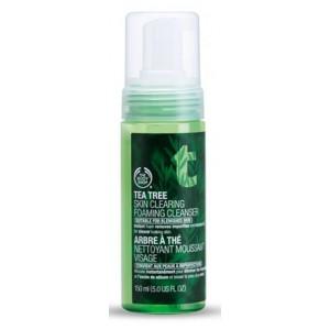 Buy Herbal The Body Shop Tea Tree Skin Clearing Foaming Cleanser - Nykaa