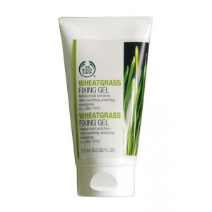 Buy Herbal The Body Shop Wheatgrass Fixing Gel  - Nykaa