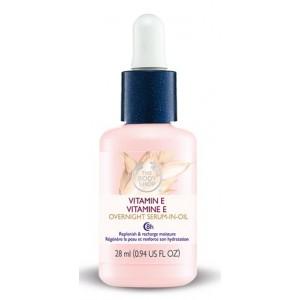 Buy The Body Shop Vitamin E Overnight Serum In Oil - Nykaa