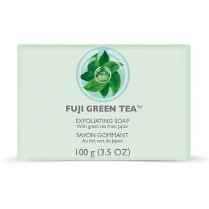 Buy The Body Shop Fuji Green Tea Exfoliating Soap - Nykaa