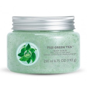 Buy The Body Shop Fuji Green Tea Body Scrub - Nykaa