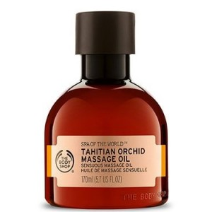 Buy The Body Shop Spa Of The World Tahitian Orchid Massage Oil - Nykaa