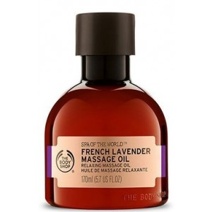 Buy The Body Shop Spa Of The World French Lavender Massage Oil - Nykaa