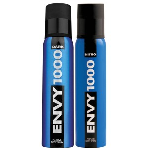 Buy Envy 1000 Dark & Nitro Deodorant Combo (Pack of 2) - Nykaa