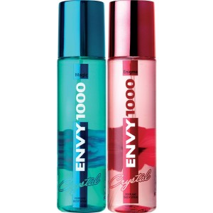 Buy Envy 1000 Enigma & Magic Crystal Deodorant Combo (Pack of 2) - Nykaa