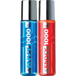 Buy Envy 1000 Texas Heat & Miami Rush Crystal Deodorant Combo (Pack of 2) - Nykaa