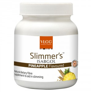 Buy VLCC Slimmers Isabgol Pineapple Flavoured - Nykaa