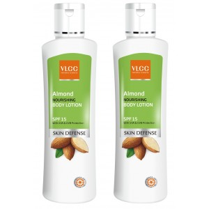 Buy VLCC Almond Body Lotion 200ml 1+1 - Nykaa