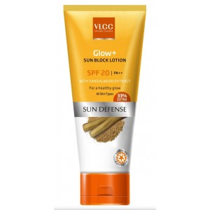 Buy VLCC Glow + Sun Block Lotion Spf 20 - Nykaa