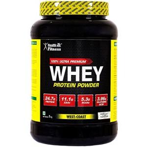 Buy HealthVit Fitness 100% Ultra Premium Whey Protein (Vanilla Flavour) - Nykaa