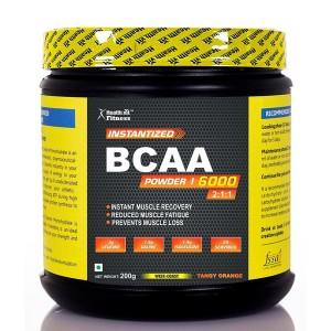 Buy HealthVit Fitness BCAA 6000 (25 Servings) - Nykaa