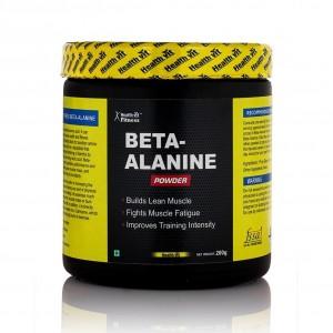 Buy HealthVit Beta-Alanine Powder (Unflavoured) - Nykaa