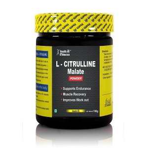 Buy HealthVit Pure L-Citrulline Dl-Malate Powder - Nykaa