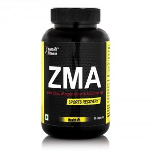 Buy HealthVit ZMA Sports Recovery 90 Capsules - Nykaa