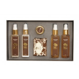Buy Roots & Above Ayurvedic Forest Woods Aromatherapy Kit - Gift Pack - Nykaa