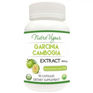 Buy Nutravigour Organic Garcinia Cambogia Extract 70% HCA (Hydroxycitric Acid) Weight Management - 90 Capsules 800mg - Nykaa