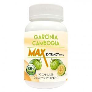 Buy Nutravigour Garcinia Cambogia Max 85% HCA Extract 800mg Veggie 90 Capsules, Slim 100% Natural - Nykaa