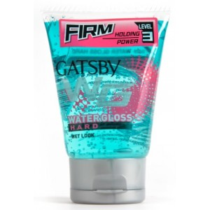 Buy Gatsby Water Gloss Hard Hair Gel (Blue) - Nykaa