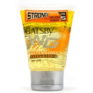 Buy Gatsby Water Gloss Super Hard Hair Gel (Yellow) - Nykaa