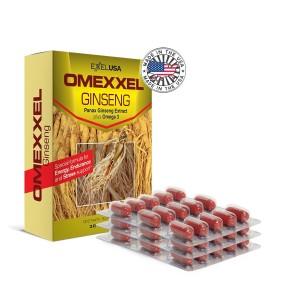 Buy ExxelUSA Omexxel Ginseng Panax Ginseng~Omega 3-Dha-Epa - Nykaa