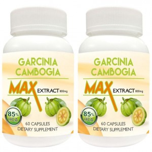 Buy Nutravigour Garcinia Cambogia Max 85% Hydroxycitric Acid (Hca) Veg 2x60 Capsules 800 Mg For Weight Loss - Pack Of 2 - Nykaa