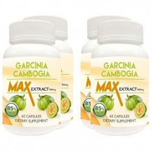 Buy Nutravigour Garcinia Cambogia Max 85% Hydroxycitric Acid (Hca) Veg 4x60 Capsules 800 Mg For Weight Loss - Pack Of 4 - Nykaa