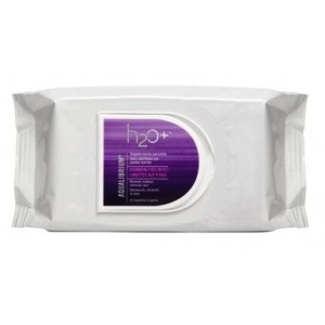 Buy Herbal H2O+ Aqualibrium Cleansing Face Wipes - Nykaa