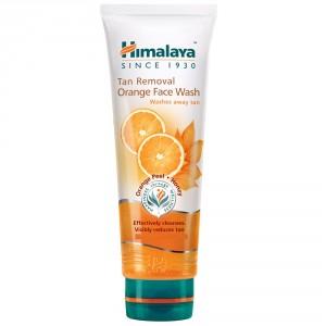 Buy Himalaya Herbals Tan Removal Orange Face Wash - Nykaa